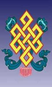 Il Nodo, simbolo dell'Infinto nel buddhismo -