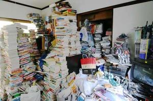 ..sono rimasti da sistemare solo i libri...