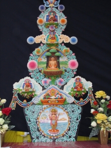 Una elaboratissima torma buddhista