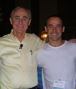 Gary Craig, fondatore di EFT, assieme al mio Coach Andrew Lewis -