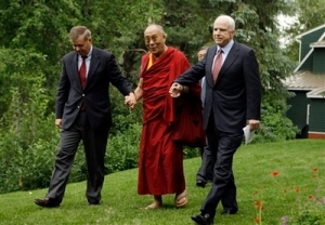 John McCain, Dalai Lama, Lindsey Graham