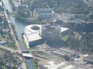 Parlamento Europeo sede di Straburgo - Francia